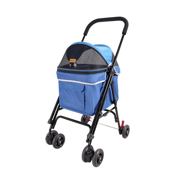 Изображение Ibiyaya Коляска Astro Mini Pet Buggy синяя