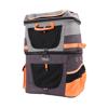 Изображение Ibiyaya Рюкзак-переноска для собак и кошек до 12 кг серо-оранжевая