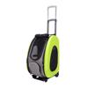 Изображение Ibiyaya складная сумка-тележка 3 в 1 для собак до 8 кг лайм