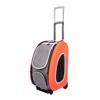 Изображение Ibiyaya складная сумка-тележка 3 в 1 для собак до 8 кг оранжевая