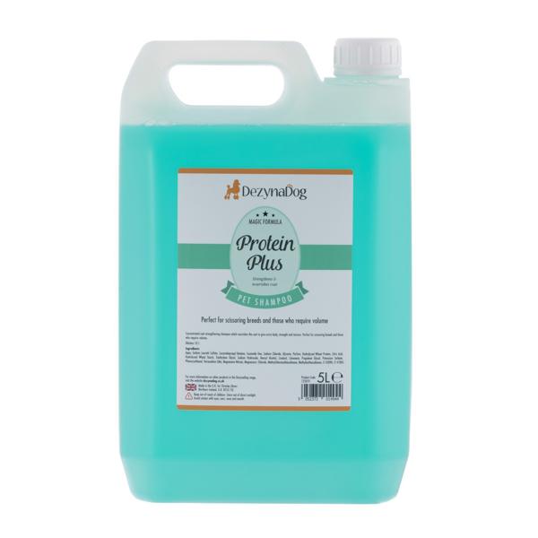 Изображение DeZynaDog Magic Formula Protein Plus Shampoo 5 л